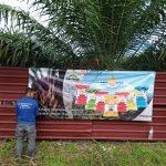 Pemasangan Banner bagi Stokis