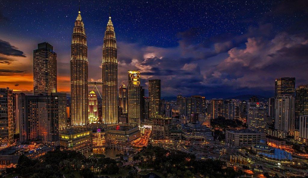 kuala lumpur, twins, malaysia